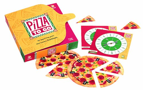 Ideal School Supply Pizza To Go Educational Board Game