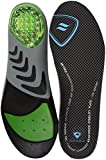 Sof Sole Airr Orthotic Full Length Performance Shoe Insoles, Black, Women's 5-7.5