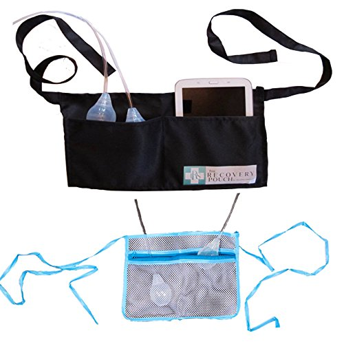 Heal in Comfort Breast Cancer Mastectomy Drainage Pouch Holders One For Shower and One For The Rest of The Time