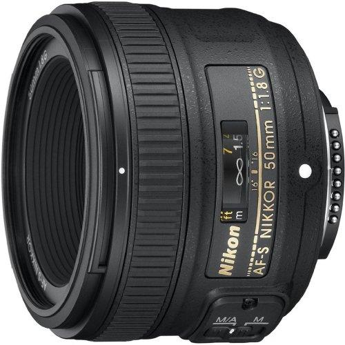 Nikon 50mm f/1.8 AF-S NIKKOR FX Lens