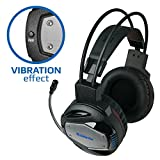 Gaming Headset Defender G-500 for PC - Vibration effect, Professional Wired Gaming Bass