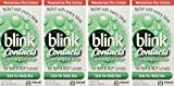 blink Contacts Lubricating Eye Drops 10 mL (Pack of 4)