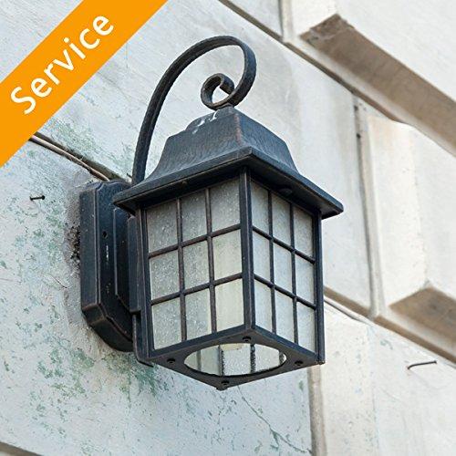 Exterior Light Fixture  Replacement - 10-14 ft. - Up to 2 Light Fixtures