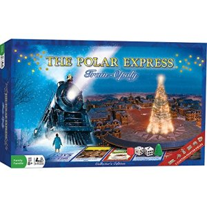 MasterPieces The Polar Express Train-Opoly Board Game 51HALM6PNEL