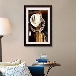 Cowboy Hat & Rope Wall Art