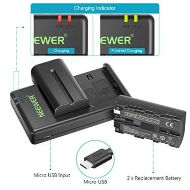 Neewer-NP-F550-Battery-Charger-Set-for-Sony-NP-F970F750F960F530F570CCD-SC55TR516TR716and-More-2-Pack-Replacement-Battery-Dual-Slot-Charger
