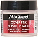 Mia Secret Cover Pink Acrylic Powder 2 Ounce