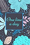 One Line A Day a Five-year Memory Journal for Busy Moms: Blank Diary for Daily Reflections Keepsake Book Best Holiday Birthday And New Year Gift Idea