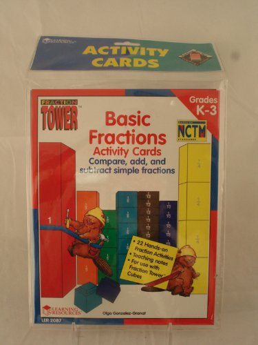 Comparing fractions & mixed numbers (Fraction Tower activity books)