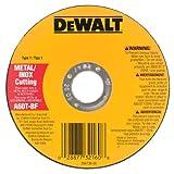 DEWALT DW8063 5-Inch by .045-Inch by 7/8-Inch A60T Abrasive Metal/INOX Cutting Wheel