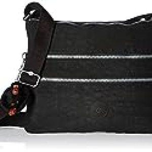 Kipling Women's Luggage Alvar Crossbody Bag, Black, One Size