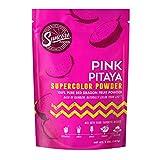 Suncore Foods - Premium Dragon Fruit Powder - Natural Pink Pitaya Supercolor Food Coloring Powder, 5oz (1 Pack)