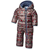 Columbia Kids Unisex Frosty Freeze¿ Bunting (Infant) Red Element Zigzag Print 3-6 Months