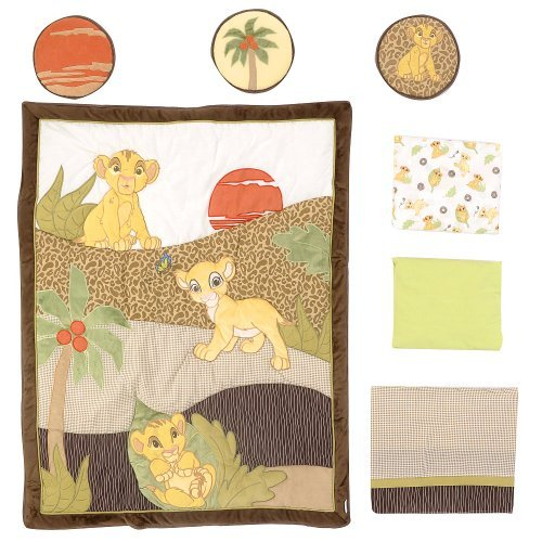 Disney Lion King 7 Piece Crib Bedding Set
