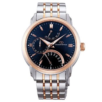 Orient Star Retrograde Day Watch with Date, Power Reserve, Sapphire Crystal DE00004D