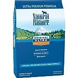 Natural Balance Original Ultra Chicken, Chicken Meal & Duck Meal Formula Dry Dog Food, 30 Pounds