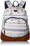 Roxy Junior's Fairness Backpack, Marshmallow Alabama Border, 1SZ