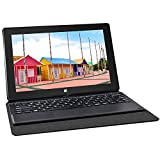 Yuntab T2 Intel Z3735F Windows10 HybridTablet PC 8001280 IPS 10.1 Inches Quad Core Dual Camera 2.0MP and 2.0 MP 2GB + 32GB with Keyboard