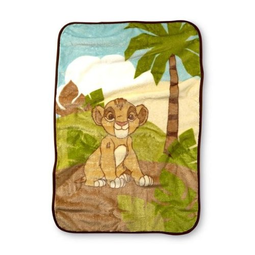 Disney Baby Infant's Lion King Blanket - 30 x 45