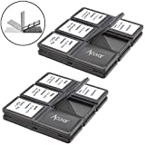 Acuvar 24 Slots, SD/SDHC Memory Card Hard Plastic Cases
