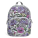 Vera Bradley Hadley Backpack, Signature Cotton, Lavender Meadow