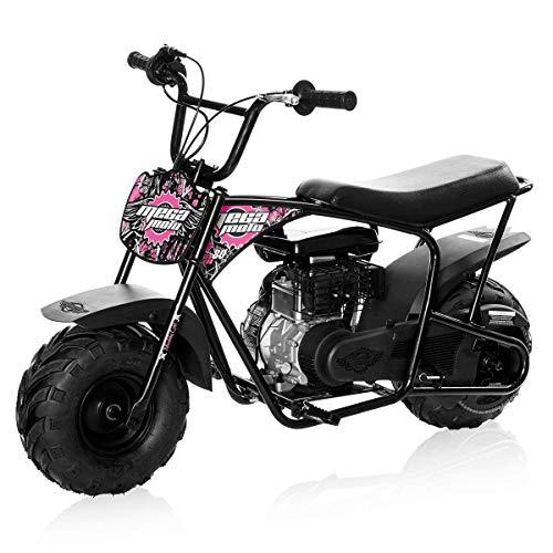 Mega Moto MM-B80-MG 2.5HP Without Suspension 80CC Youth Mini Bike (Muddy Girl Pink)