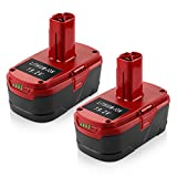 Powilling 2Pack 5.0Ah 19.2 Volt Lithium Battery Replacement for Craftsman C3 Battery XCP Craftsman 19.2 Volt Battery 130279005 1323903 130211004 11045 315.115410 315.11485