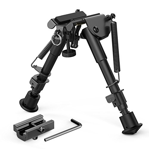 XAegis 2 in 1 Bipod 6 Inch to 9 Inch Adjustable...