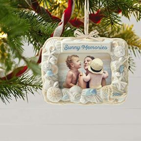 Hallmark-Keepsake-Ornament-2020-Seashell-Sun-and-Fun-Beach-Picture-Frame