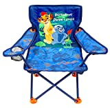 Mickey Camp Chair for Kids, Portable Camping Fold N Go Chair with Carry Bag
