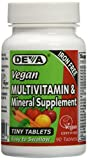 Deva Nutrition Vegan Tiny Iron Free Multivitamin Tablets, 90 Count