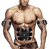 AILIDA ABS Stimulator Muscle Toner Abdominal Toning Belt Workouts Portable AB Training Home Office Fitness Equipment for Abdomen/Arm/Leg Training Men Women