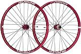 Spank OOZY Trail 345 Wheelset 29' Bike Wheels, Red