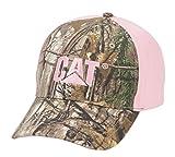 Caterpillar Women's Trademark Cap, Realtree Camo/Pink, One Size