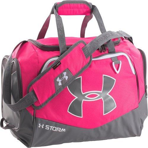 Under Armour Women's Undeniable Duffle Gym Bag, Pinkadelic /White, Small