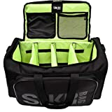 Sneaker Bag - Shoe Protection Travel Bag Water Resistant, Multi-Pocket with Adjustable Inserts and Shoulder Strap, Large Exterior Pocket and Interior Mesh & Zip Compartments UNISEX