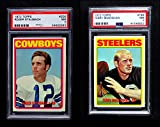1972 Topps Football Low Number Complete Set (Football Set) Dean's Cards 7 - NM