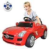 Costzon Mercedes Benz SLS Kids Ride On Car RC Battery Toy Vehicle w/MP3 (Red)