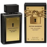 Perfume The Golden Secret 100ml Edt Masculino Antonio Banderas