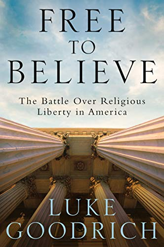 'Free to Believe' book cover
