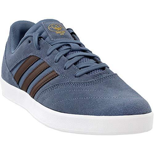 adidas Suciu Adv (core Black/White/Gold Metallic) Men's Skate Shoes (13)