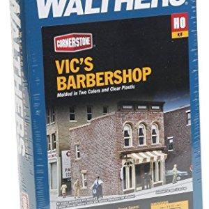 Walthers Cornerstone Vic's Barber Shop Kit 51HqBn46myL