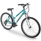 "27.5"" Royce Union RMA Womens 21-Speed All-Terrain Mountain Bike, 17"" Aluminum Frame, Trigger Shift, Metallic Teal"