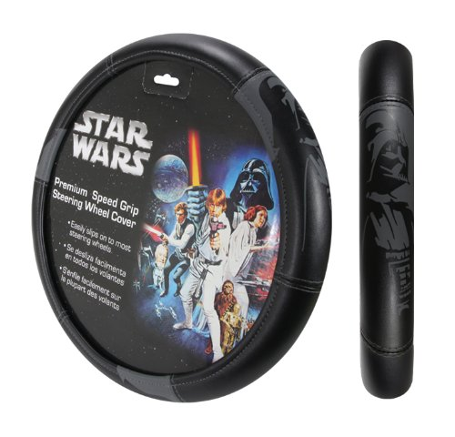Plasticolor 006736R01 Star Wars Darth Vader Steering Wheel