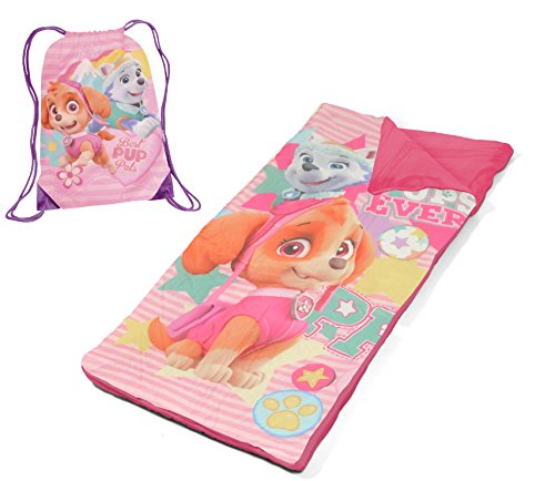 Nickelodeon Paw Patrol Skye and Everest with Nap Mat