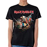 Global Iron Maiden - Trooper T-Shirt,Black,Medium