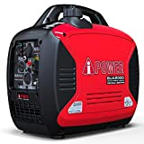 A-iPower SUA2000iV Super Quiet 2000-Watt Portable Inverter Generator CARB/EPA, 2000 Watt, RV Ready