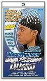 WaveBuilder Premium Hair Wave Activating Durag, Black
