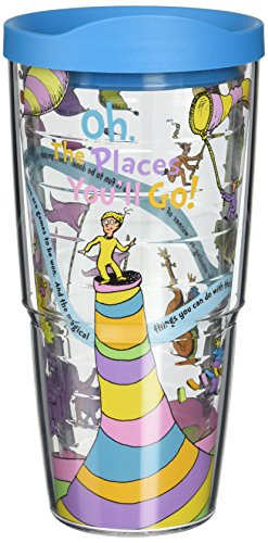 Tervis Dr. Seuss Oh The Places You'll Go Wrap Tumbler, 24-Ounce