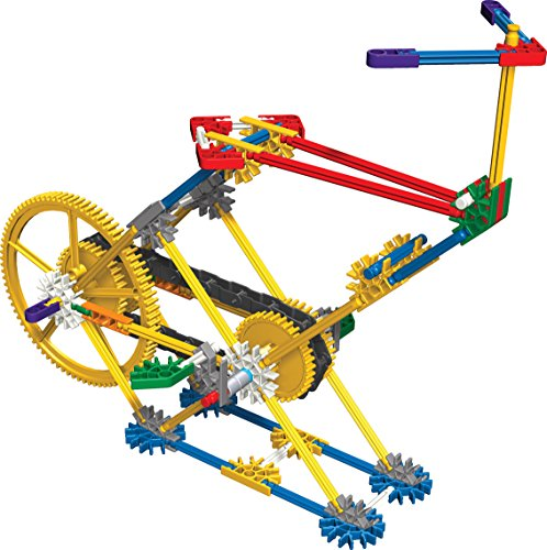 K Nex Education Intro To Simple Machines Gears Set 198 Pieces